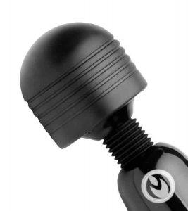 Thunderstick wand vibrator head