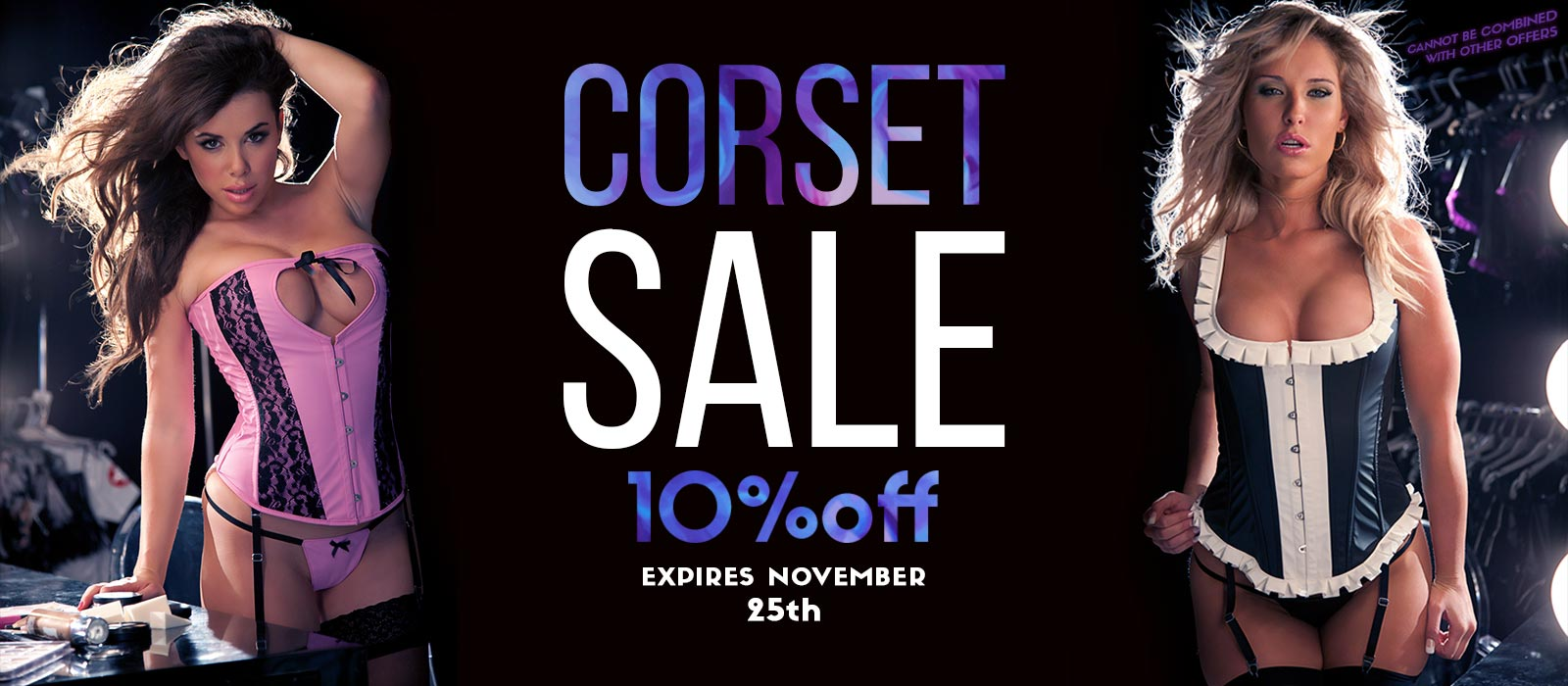 Fetish Corset Sale 10% Off expires 10/25/16