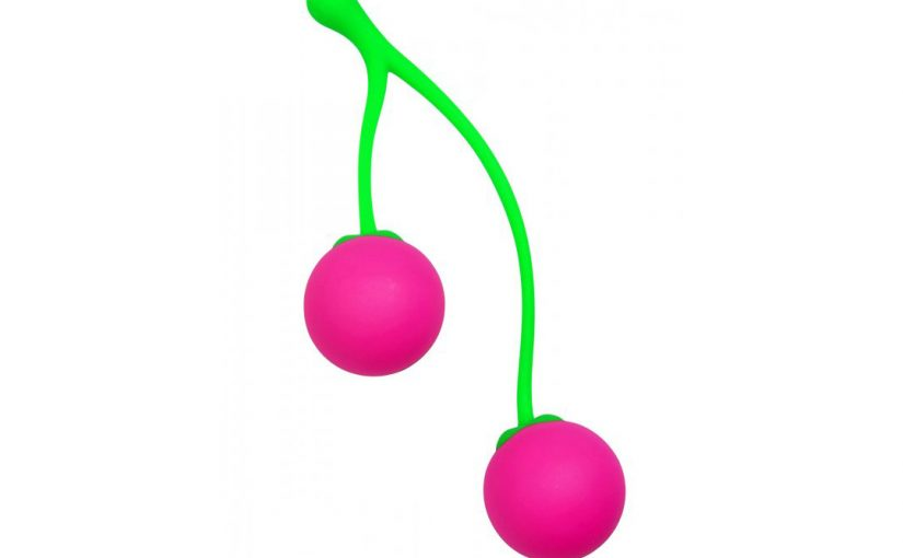 Frisky Charming Cherries Silicone Kegel Balls