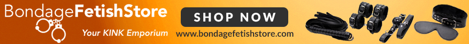 BondageFetishStore Promo Banner