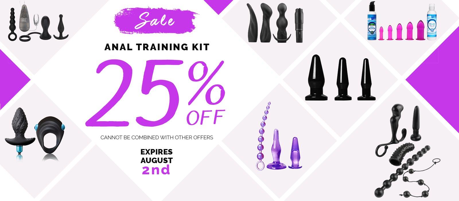 anal training kits