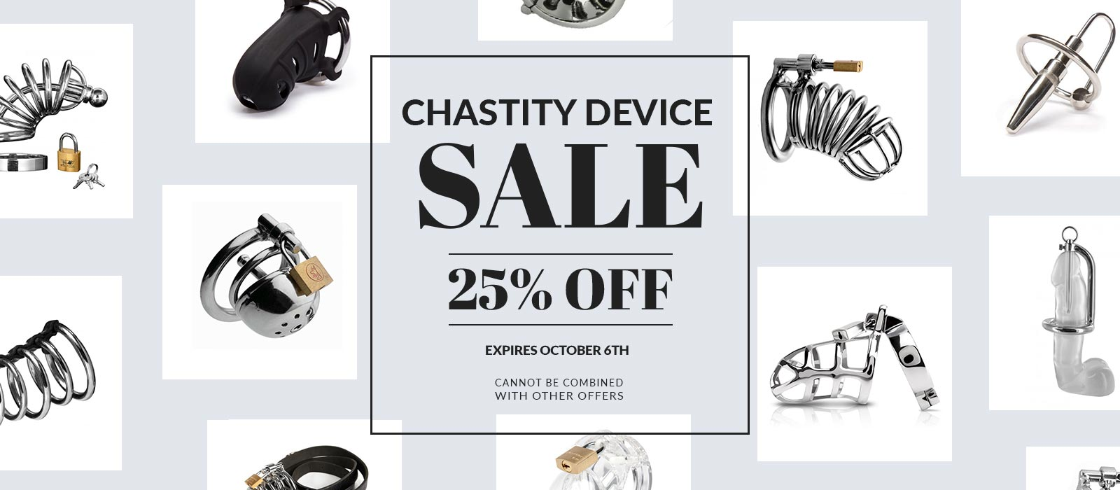 Chastity Belt Sale 20% off