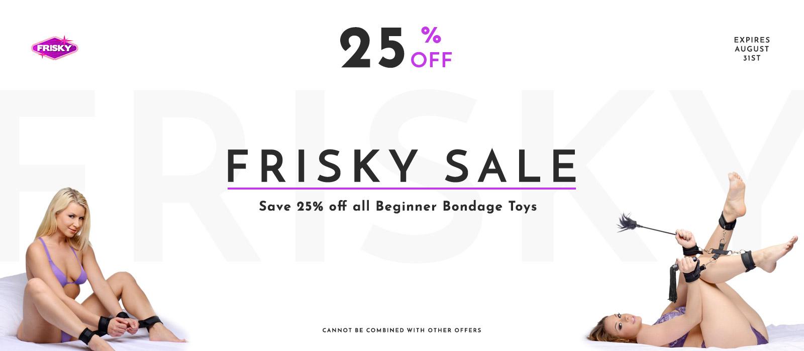 Frisky Sale
