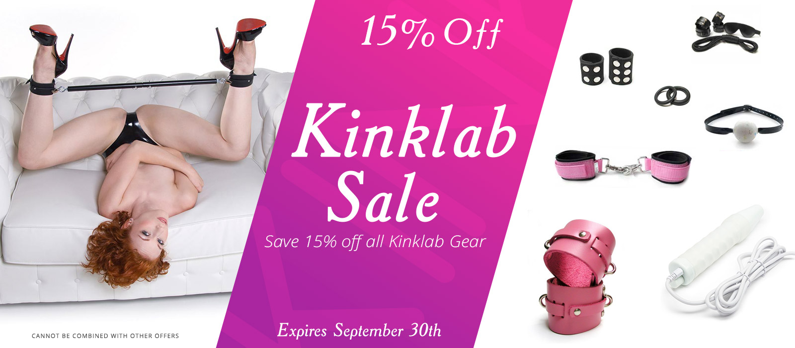 Bondage Fetish Store Sale 15% off