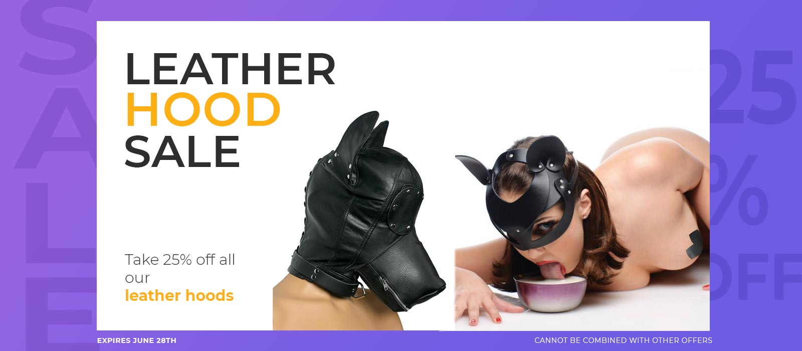 leather bondage hood sale