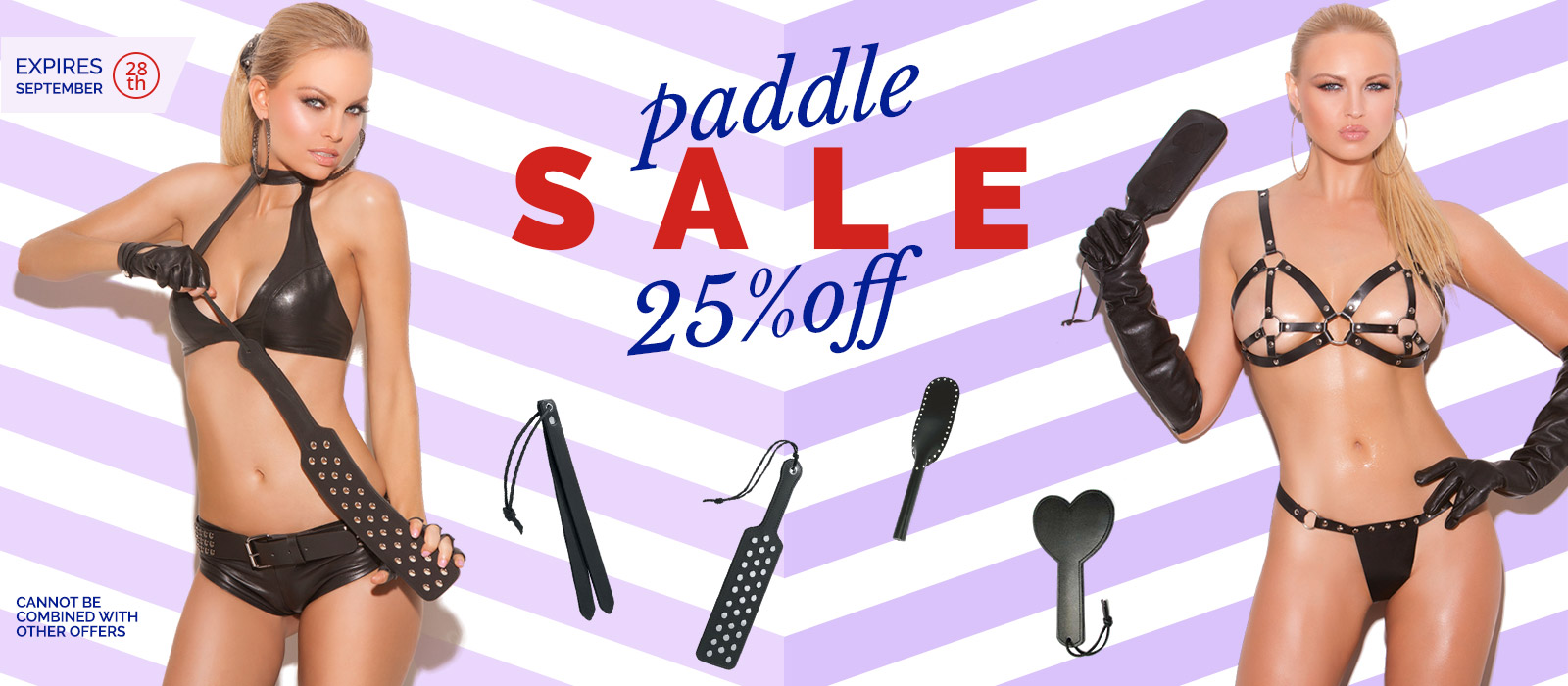 BDSM Paddle Sale save 25% at the Bondage Fetish Store