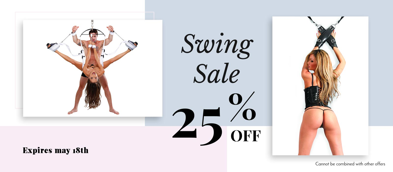 Swing and Sling Sale 25% off