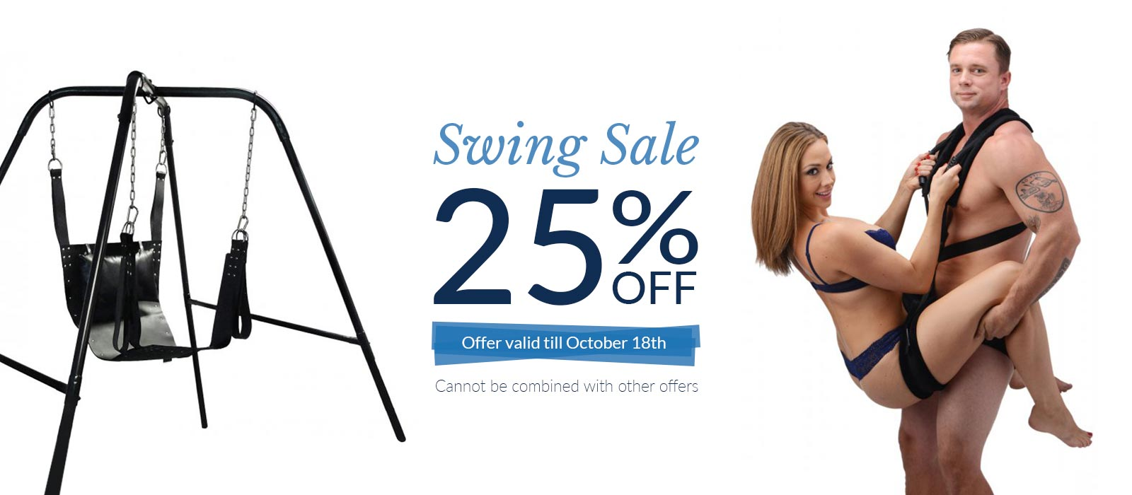 Bondage Fetish Store Swing Sale 25% off