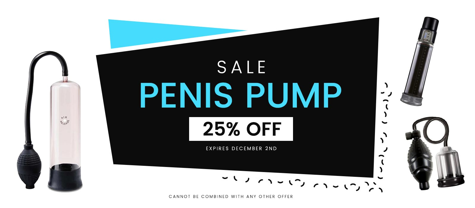 Penis Pump 25% Sale